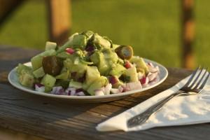 Hanley's Cucumber Avocado Salad