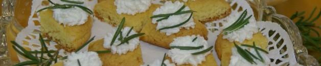 Plain Chevre w:Rosemary&Lemon