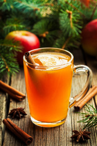 Hot toddy traditional winter alcohol warming drink recipe. Homemade christmas