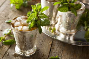 Refreshing Cold Mint Julep
