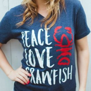 Peace_Love_Crawfish_Vintage_Navy_V_Neck_T_Shirt_Crawfish_T_Shirt_Louisiana_Love_by_shopSFT_grande