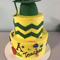 A+ grad cake