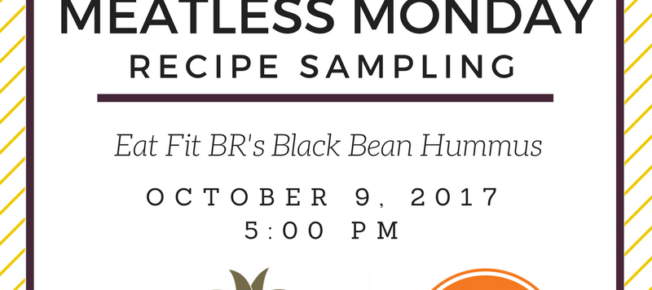 Oct - Black Bean Hummus social graphic